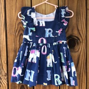 Eleanor Rose 12 month dress